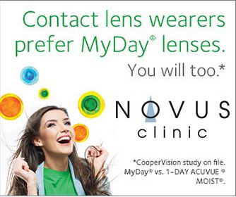 Promo for MyDay lenses.