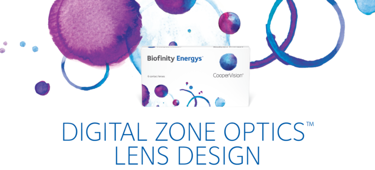 Image of digital zone optics lens logo.
