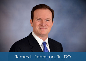 Image of Dr. James Johnston Jr. with name at the bottom