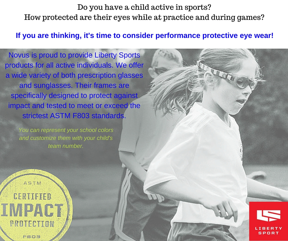 Image of children playing wearing sports eye protection.