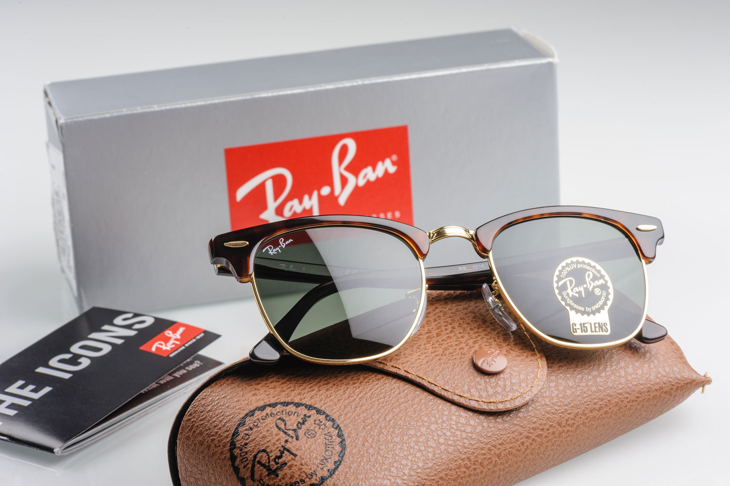 Image of Ray-Ban sunglasses.